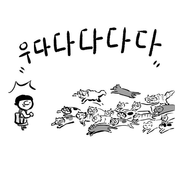 고양이사전. 제8화 알다