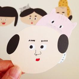 아저씨와 고양이 카드