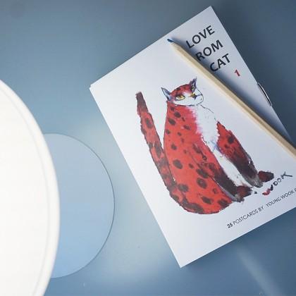 러브프롬캣 엽서책 - LOVE FROM CAT